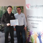 Spendenübergabe Jürgen Berens
