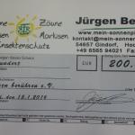 Scheck Jürgen Berens